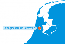 The beemster polder map