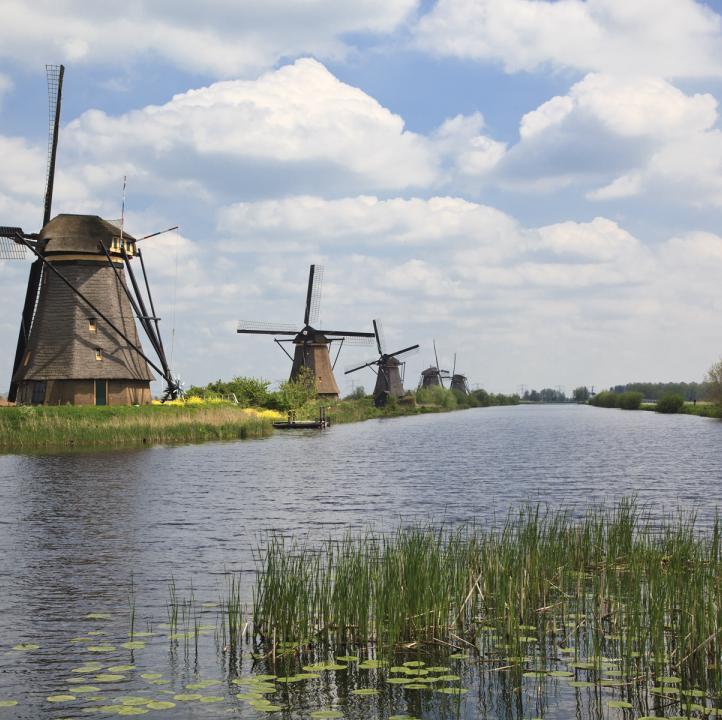 UNESCO Molencomplex Kinderdijk-Elshout molens